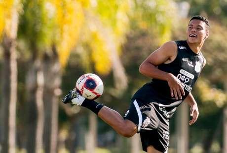 Luis Mandaca está inscrito pelo Corinthians na lista A do Paulistão (Foto: Rodrigo Coca/Ag. Corinthians)