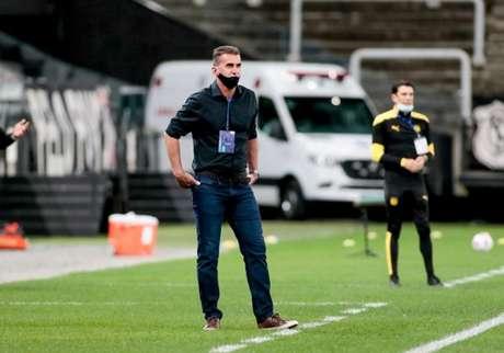 Vagner Mancini justificou a saída de Luan no segundo tempo (Foto: Rodrigo Coca/Ag. Corinthians)