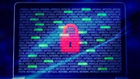 Ilustração de segurança em computador