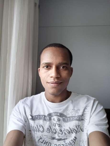 Foto tirada com a câmera frontal do Nokia 2.4