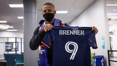 Brenner foi vendido pelo São Paulo em fevereiro deste ano (Foto: Divulgação / Twitter Cincinnati)