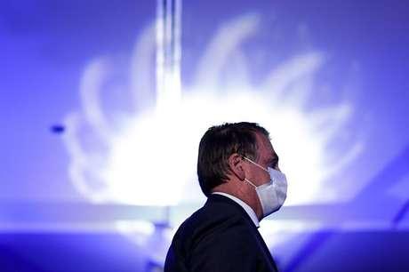 Presidente Jair Bolsonaro em Brasília 28/04/2021 REUTERS/Ueslei Marcelino