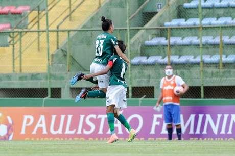 Ary Borges e Ottilia foram os destaques do Palmeiras no Brasileirão Feminino (Foto: Rodrigo Corsi/Paulista Feminino)
