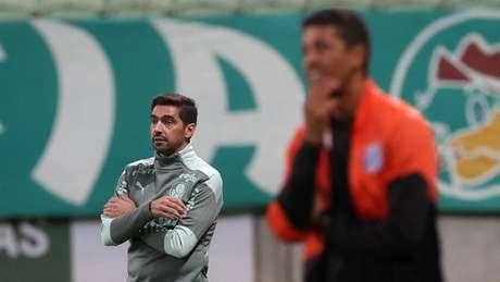 Abel comandou o Palmeiras na derrota desta quinta-feira, diante da Inter de Limeira (Foto: Cesar Greco/Palmeiras)
