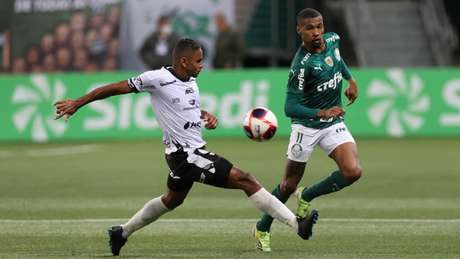 Wesley sofreu entorse no tornozelo esquerdo contra a Inter de Limeira (Foto: Cesar Greco/Palmeiras)