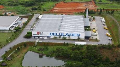 Fábrica da LG em Taubaté