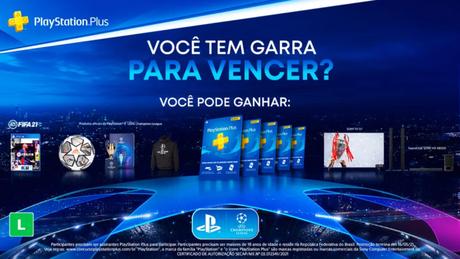 """Concurso """"Você tem garra pra vencer?"""", da PlayStation Brasil"""