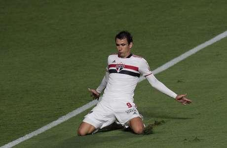Pablo analisou a vitória sobre o Rentistas pela Libertadores (Foto: Rubens Chiri/saopaulofc.net)