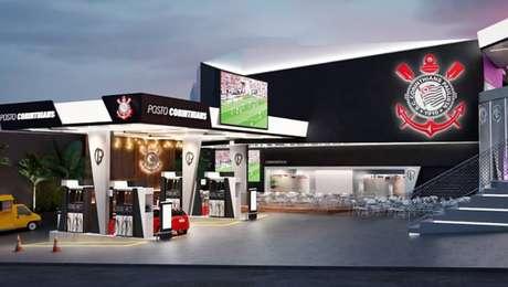 Posto Corinthians terá decoração especial em alusão ao clube