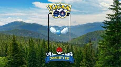 Swablu é o pokémon no Dia Comunitário de Pokémon Go em maio