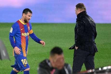Barcelona precisa venceer (Foto: AVIER SORIANO / AFP)
