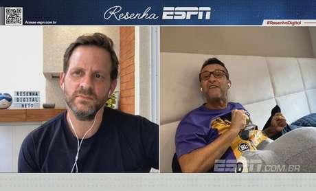 Neto detona imprensa no 'Resenha ESPN' (Foto: Reprodução/ESPN)