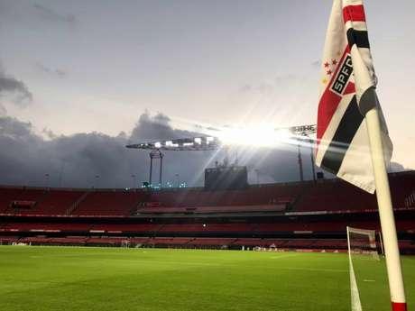 Casares falou sobre os naming rights do Morumbi (Foto: Twitter/São Paulo FC)