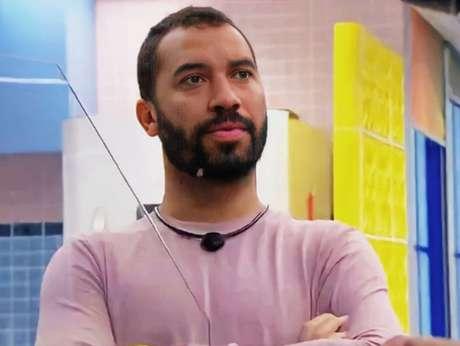 Gilberto é torcedor declarado do Leão e já falou do clube no confinamento (Reprodução/Globo)