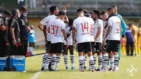 Na Taça Guanabara, Vasco e Madureira empataram em 2 a 2 (Foto: Rafael Ribeiro/Vasco)