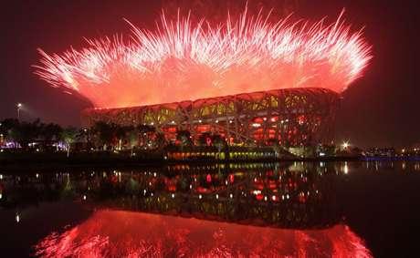 Os Jogos de Pequim em 2008 foram considerados um sucesso