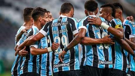 Grêmio em ação pelo Gauchão (Foto: Lucas Uebel/Grêmio FBPA)