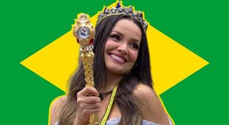 O universo conspirou a favor e Juliette se tornou a pessoas mais famosa do Brasil neste momento