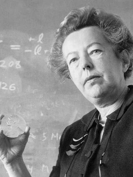 Quando Goeppert Mayer ganhou o Nobel de Física em 1963, ela se tornou a segunda mulher na história a receber o prêmio