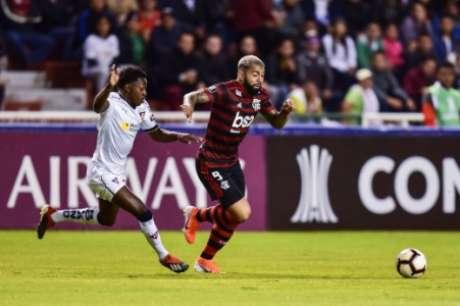 Flamengo voltará a enfrentar a altitude de Quito (RODRIGO BUENDIA/AFP)