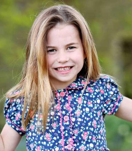 Segunda filha de William e Kate, princesa Charolotte completa 6 anos neste domingo, 2.