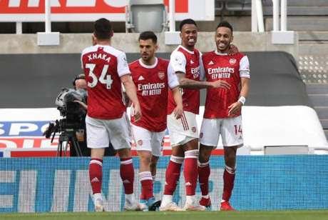 Arsenal venceu o Newcastle (Foto: MOLLY DARLINGTON / POOL / AFP)