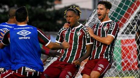 Abel Hernández empatou a partida Foto: MAILSON SANTANA/FLUMINENSE FC