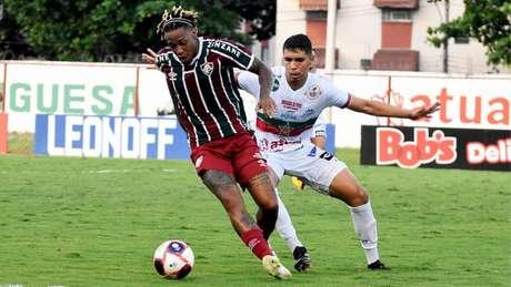 Portuguesa-RJ e Fluminense empataram no jogo de ida das semifinais do Carioca (FOTO: MAILSON SANTANA/FLUMINENSE FC)