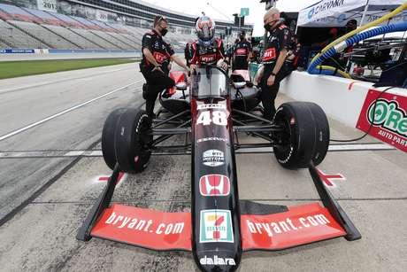 Tony Kanaan foi 11º no GP do Texas 1