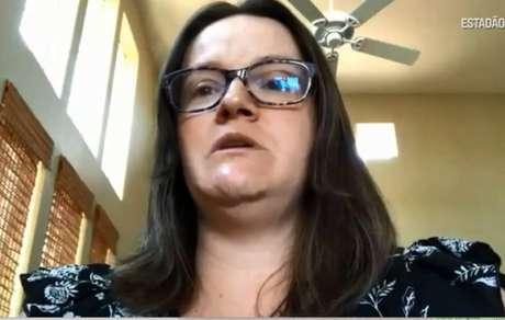 Nutricionista Natália Gava, de 37 anos, mora nos Estados Unidos.