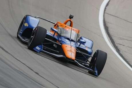 Felix Rosenqvist perdeu pneu e causou amarela que mudou a corrida de primeira vitória de O'Ward na Indy