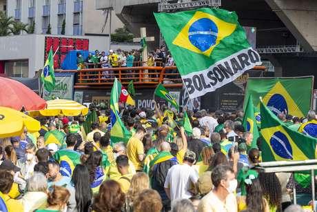 Netinho cantou o hit 'Milla' durante ato pró-Bolsonaro na cidade de São Paulo, no sábado (1º)