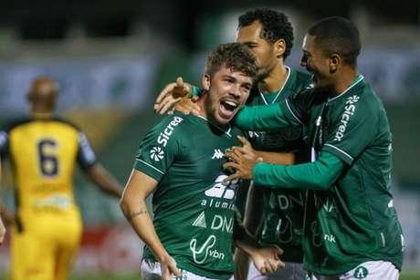 O Guarani venceu o Novorizontino por 2 a 1, no Brinco de Ouro (Foto: Divulgação/Guarani)