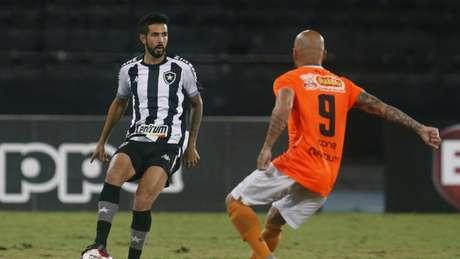 Depois do segundo tempo, o Alvinegro pouco apresentou dentro de campo (Foto: Vitor Silva/Botafogo)