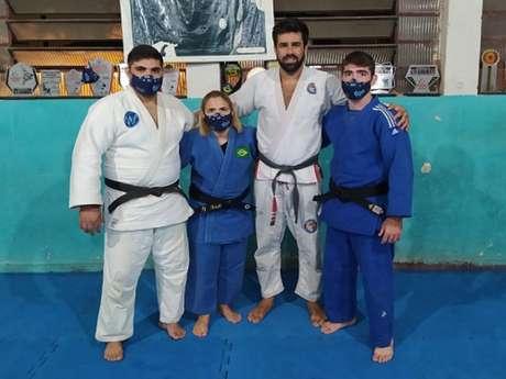 Equipe de Judô da Umbra vem trabalhando com técnicas de Jiu-Jitsu (Foto: Divulgação)