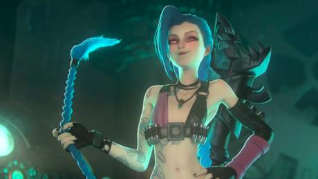 Jinx é uma das personagens em Arcane, na Netflix