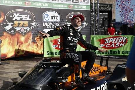 Pato O'Ward finalmente venceu na Indy