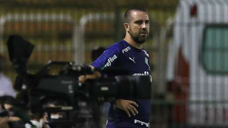 João Martins durante partida válida pelo Campeonato Paulista (Foto: Cesar Greco/Palmeiras)