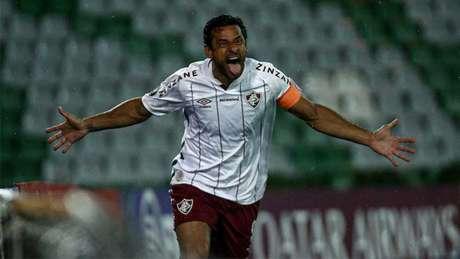 Fred marcou três gols nesta edição da Libertadores (Foto: Lucas Merçon/Fluminense FC)