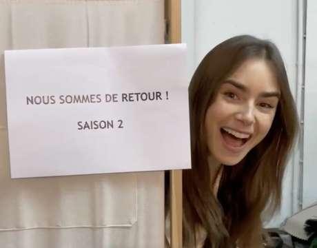 Emily em Paris: Vídeo com elenco anuncia gravações da 2ª temporada