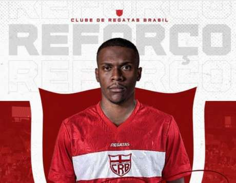 Frazan foi anunciado pelo CRB nesta segunda-feira (Foto: Divulgação/CRB)