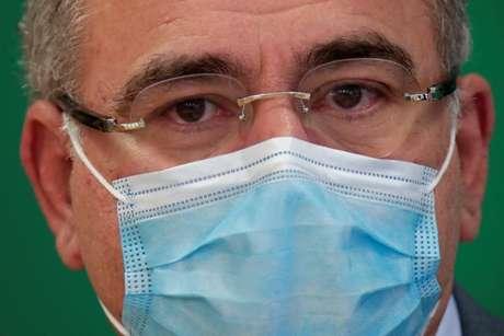 Ministro da Saúde, Marcelo Queiroga, em entrevista em Brasília  28/4/2021 REUTERS/Ueslei Marcelino