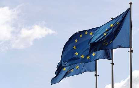 Bandeiras da UE em Bruxelas 19/09/2019 REUTERS/Yves Herman