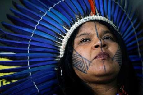 Líder indígena Sônia Guajajara 18/02/2020 REUTERS/Adriano Machado