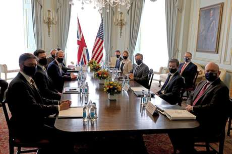 Reunião de ministros do G7 em Londres  3/5/2021   Jonathan Buckmaster/Pool via REUTERS
