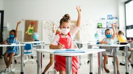 A abertura de escolas tem sido um tema quente durante a pandemia