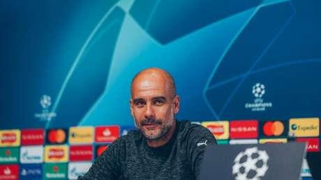 Guardiola tenta seu terceiro título de Champions como técnico (Foto: Divulgação / Site oficial do Manchester City)