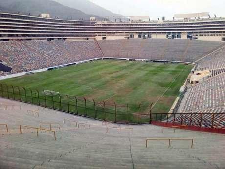 Estádio Monumental recebeu jogo do Palmeiras, pela Libertdores, há três semanas (Foto: Reprodução/Todo Sport)