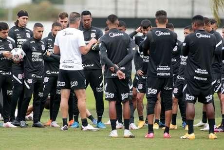 Corinthians viajará para Lima já nesta terça-feira e treina por lá na quarta (Foto: Rodrigo Coca/Ag. Corinthians)