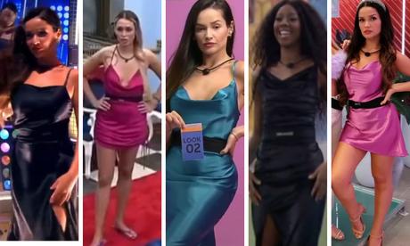 Slip dress no BBB21 Juliette no BBB21
